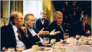 Rumsfeld com os \
