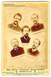 Os mártires de Haymarket